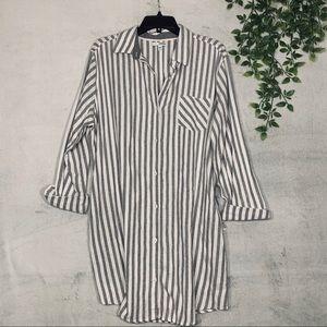 Striped Button Pajamas